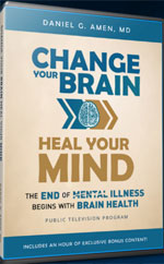 DVD: Change Your Brain, Heal Your Mind (Program DVD) With Bonus Material