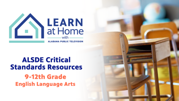 9th-12th Grades ALSDE Critical Standards: English Language Arts
