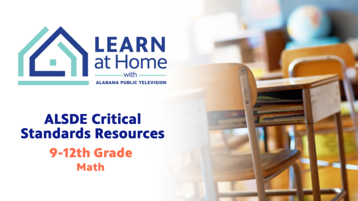 9th-12th Grades ALSDE Critical Standards: Math
