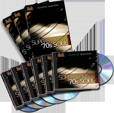 Combo: 6 CD Set + 3 DVD Set-70s Soul Superstars