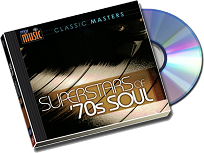 CD: 70s Soul Superstars Soundtrack