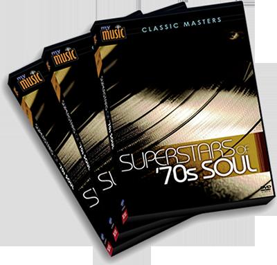 3 DVD Set, 70s Soul Superstars