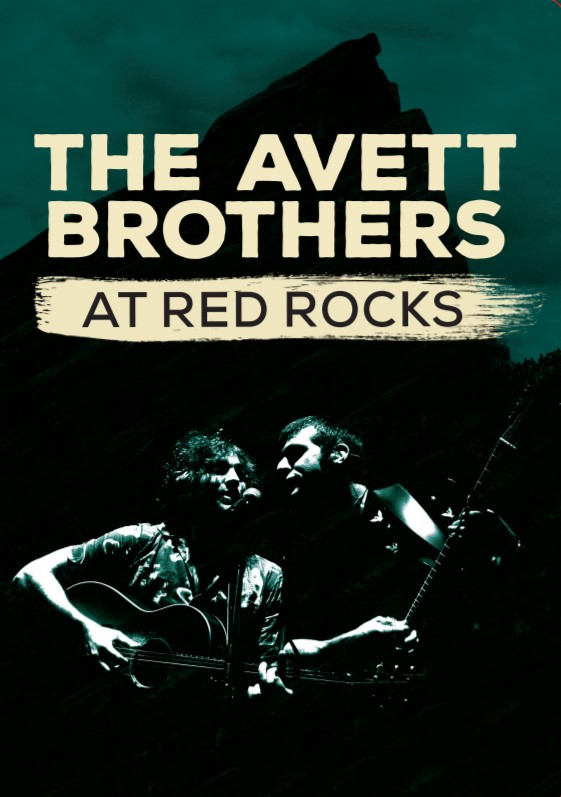 DVD: The Avett Brothers at Red Rocks