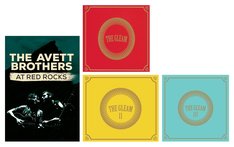 Combo: Avett Brothers, 3 CDs + DVD