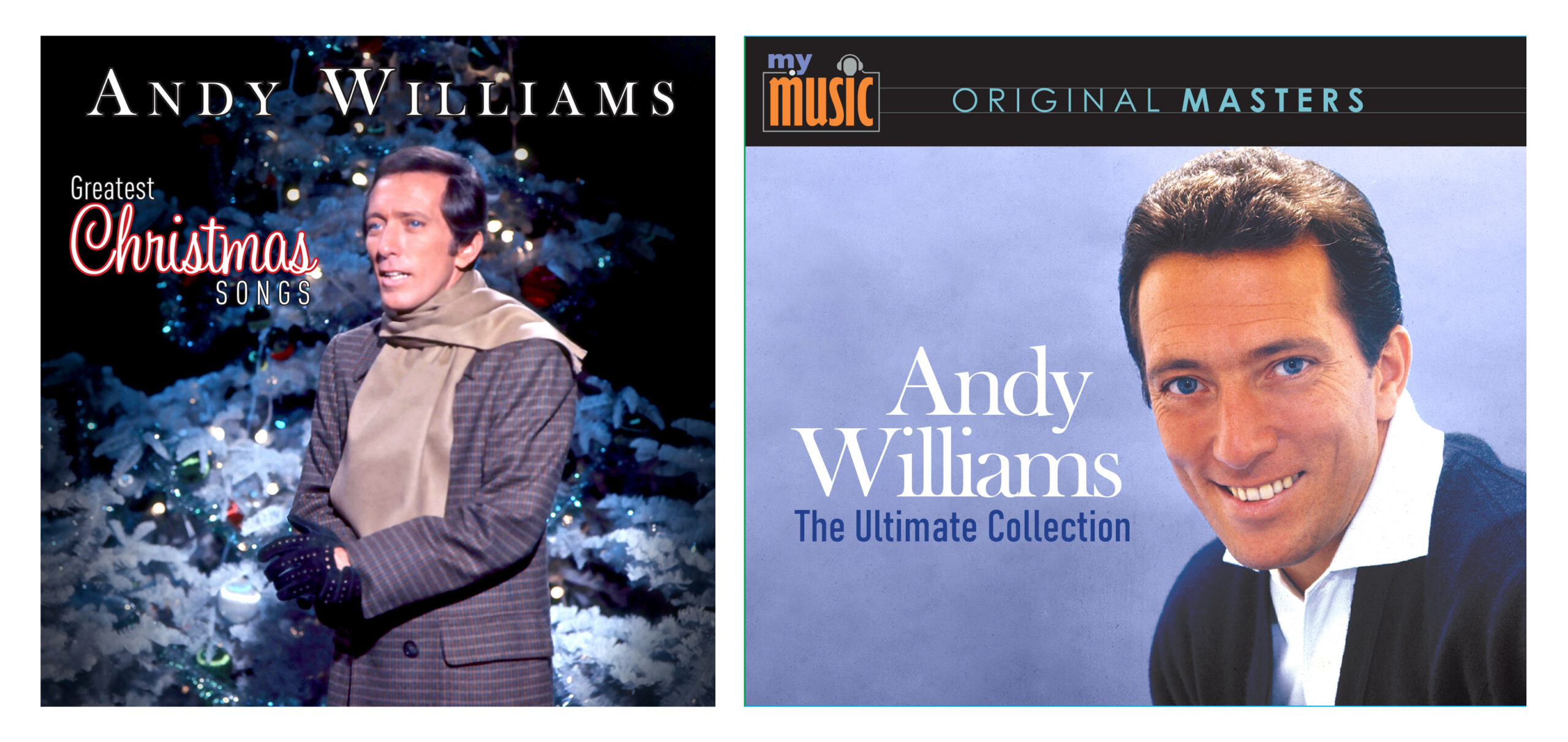 5 CD Set: Andy Williams Ultimate Collection/Greatest Christmas Songs