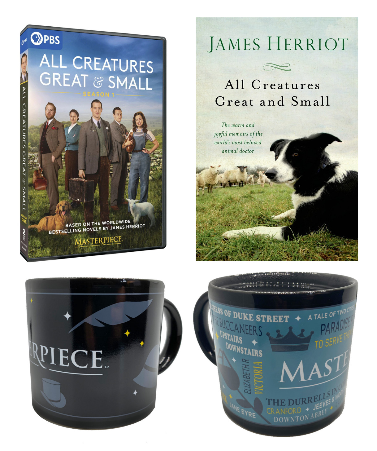 All Creatures Great and Small Combo (DVD,Book,Mug)