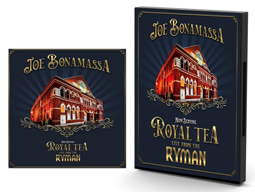 Combo 1: DVD + CD Joe Bonamassa Live from The Ryman