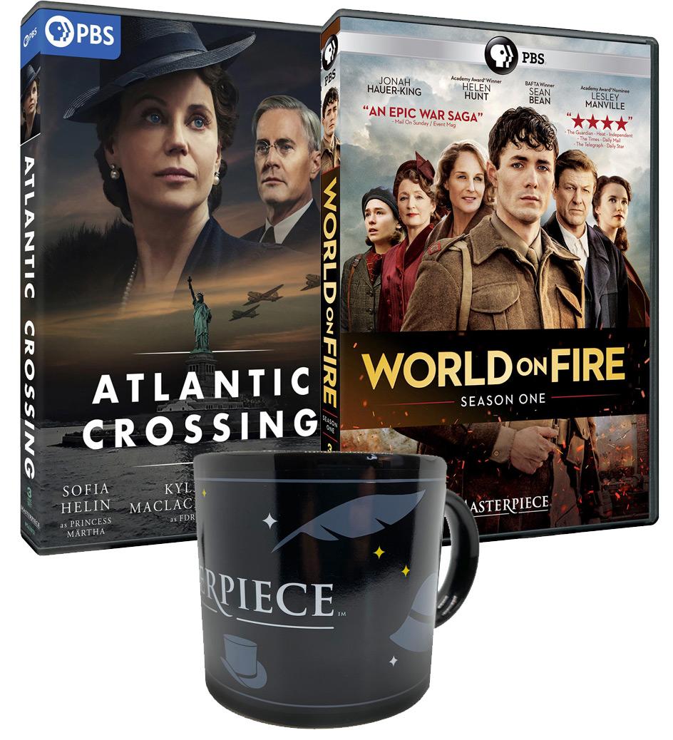 Atlantic Crossing Combo: DVD Sets and Mug