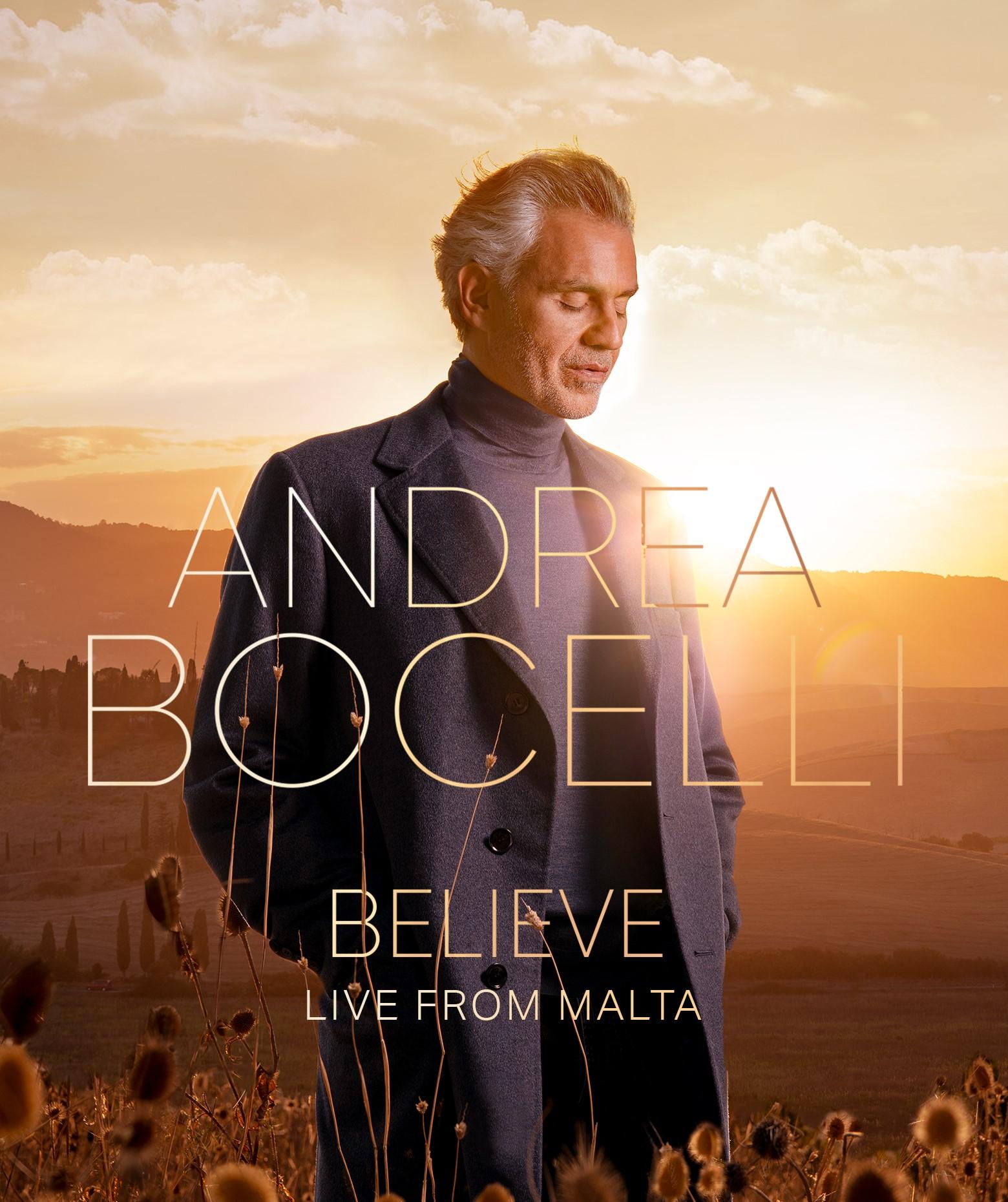 Andrea Bochelli Believe, DVD-Believe Live From Malta