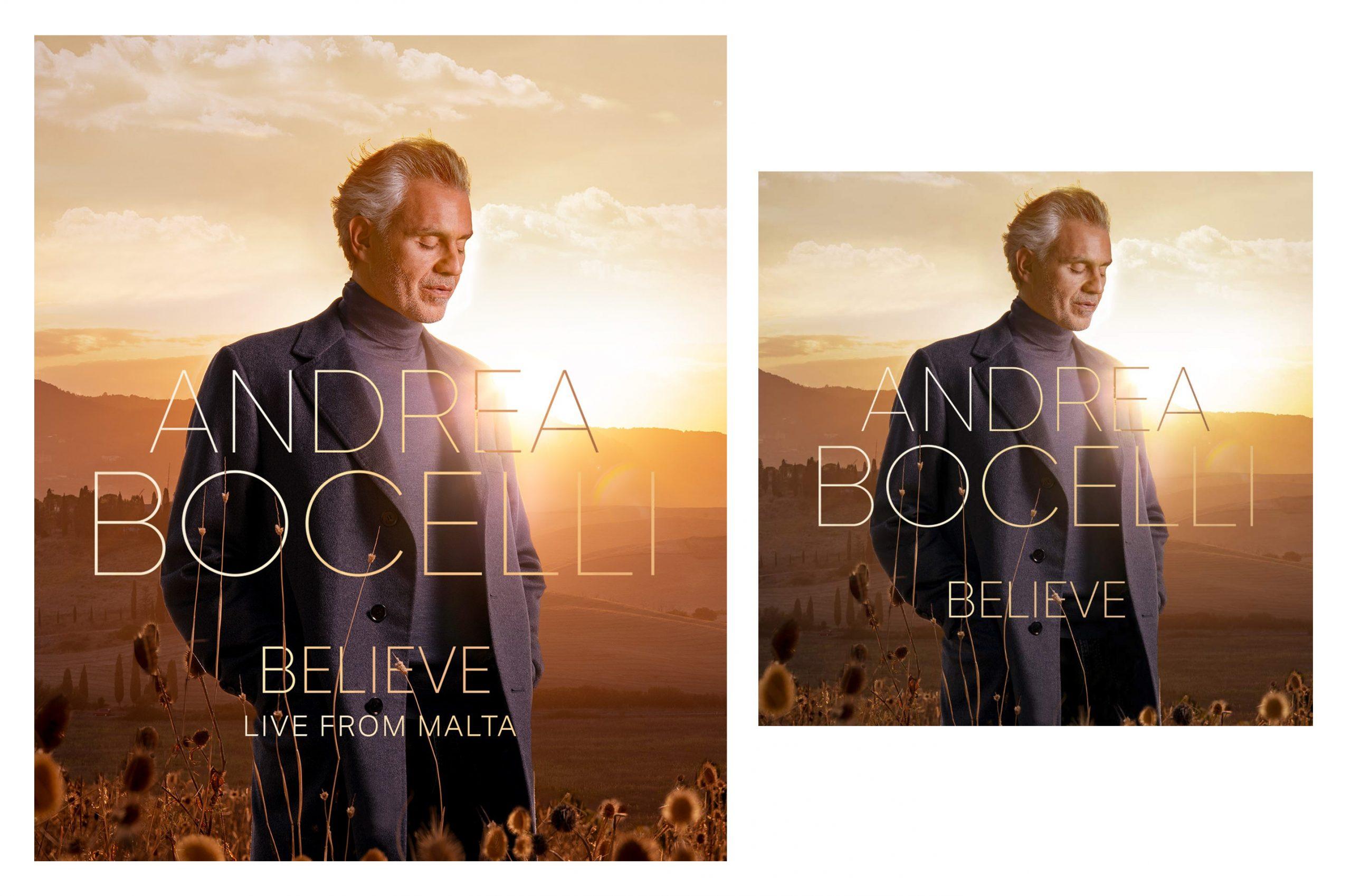 Andrea Bochelli Believe Combo: CD Believe + DVD Believe Live From Malta