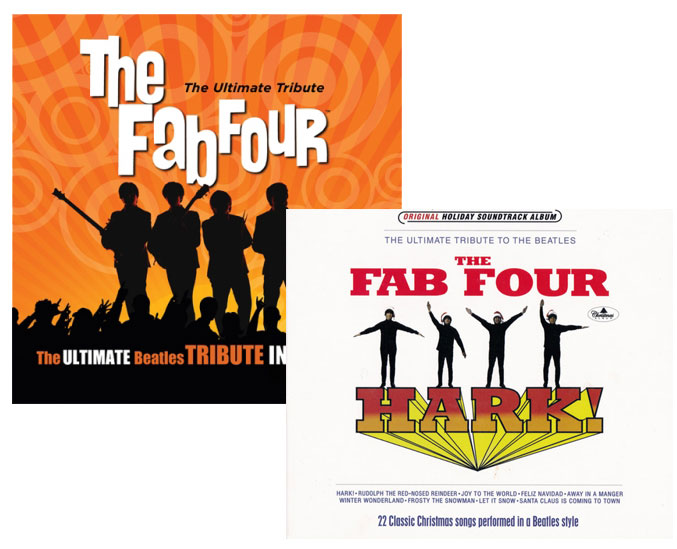 Fab Four 2 CDs: Ultimate Tribute + Hark!